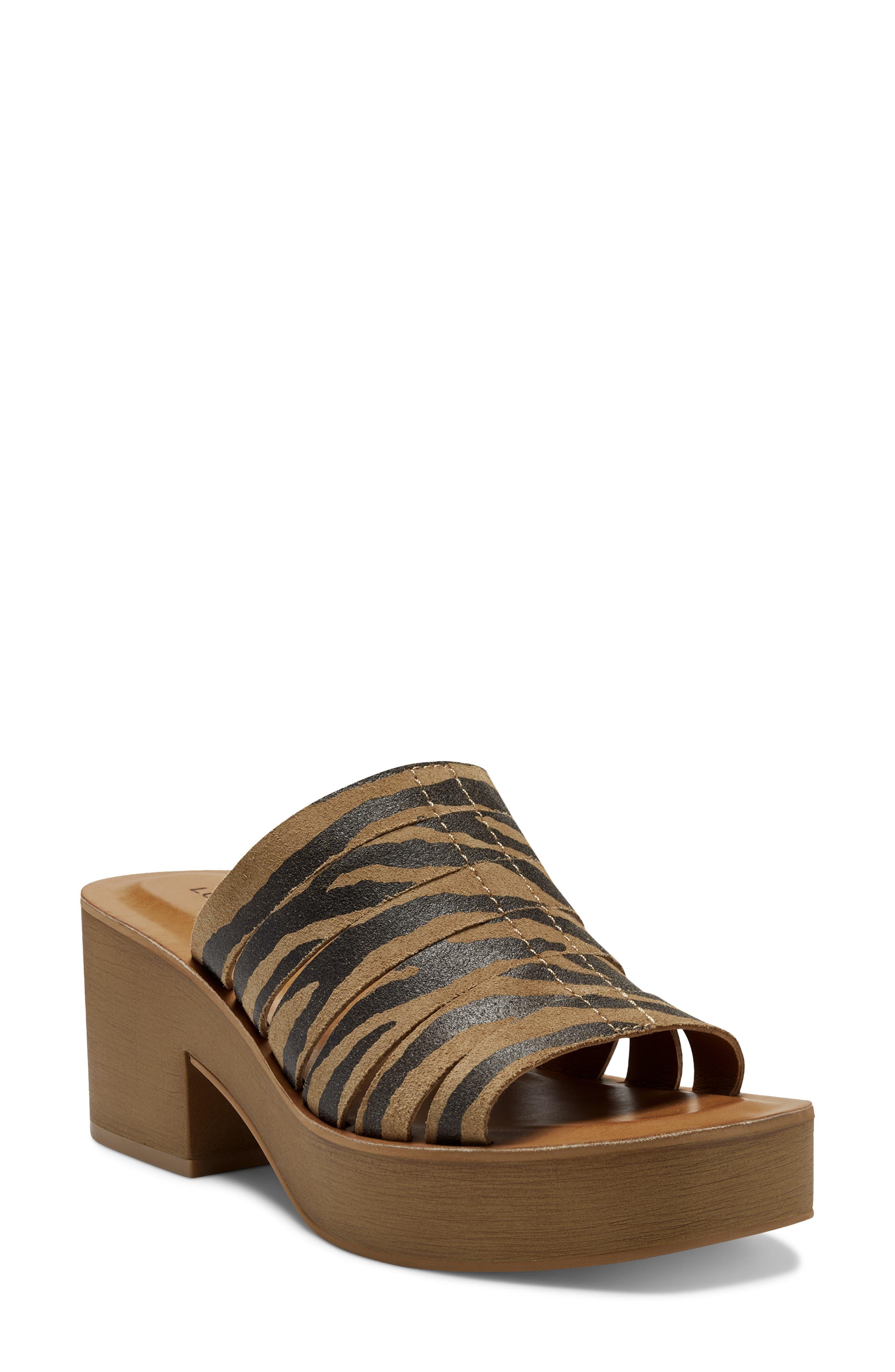Paydin Platform Slide Sandal