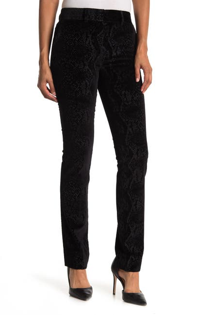 Image of FRAME The Perfect Burnout Velvet Trousers