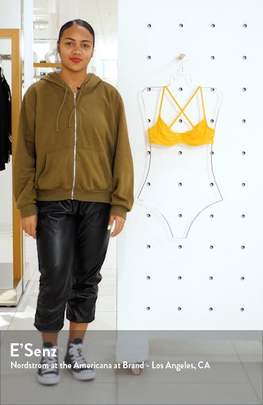 x We Wore What Lydia Underwire Bikini Top, sales video thumbnail