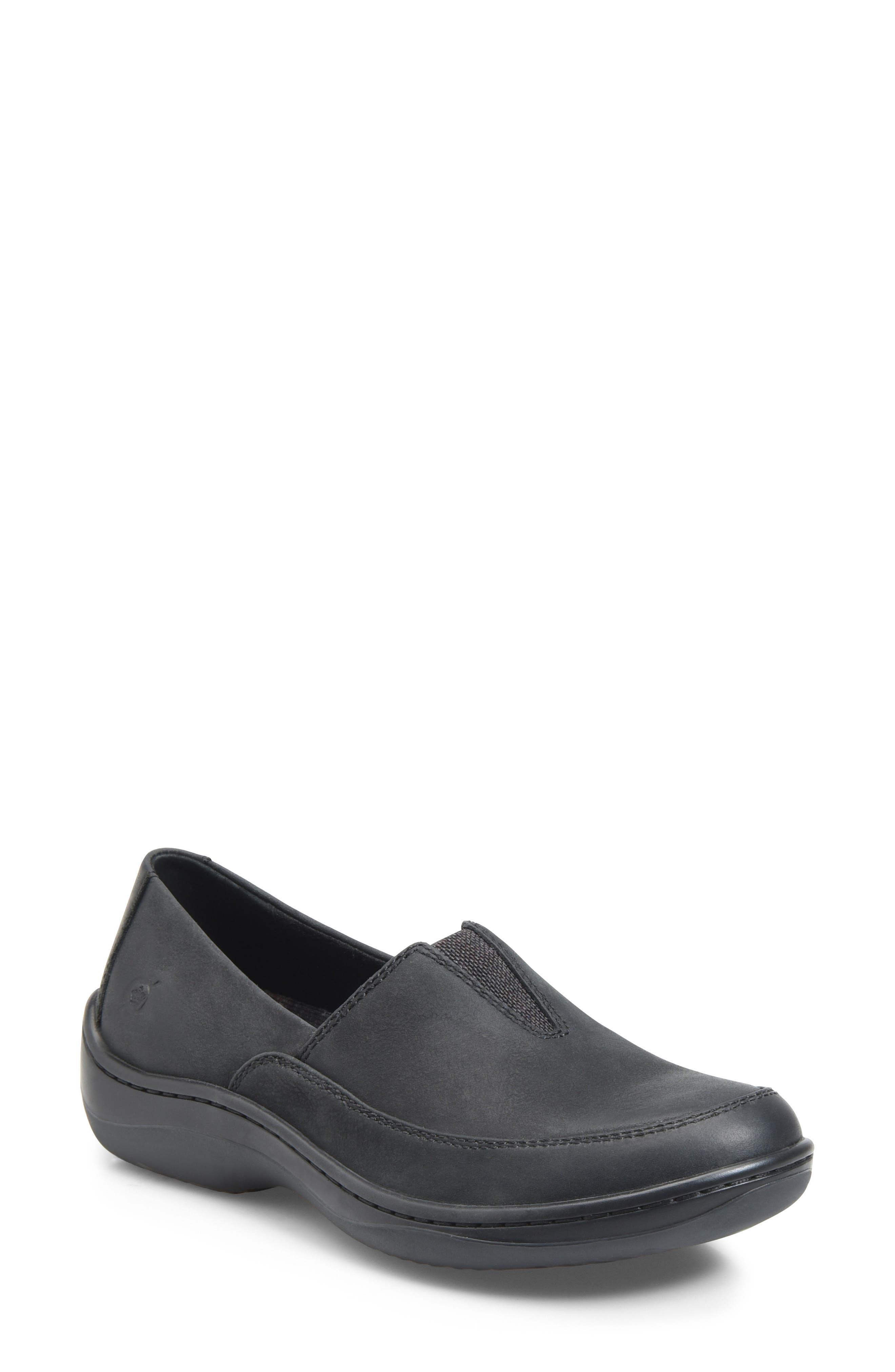 Lex Loafer, Main, color, BLACK NUBUCK