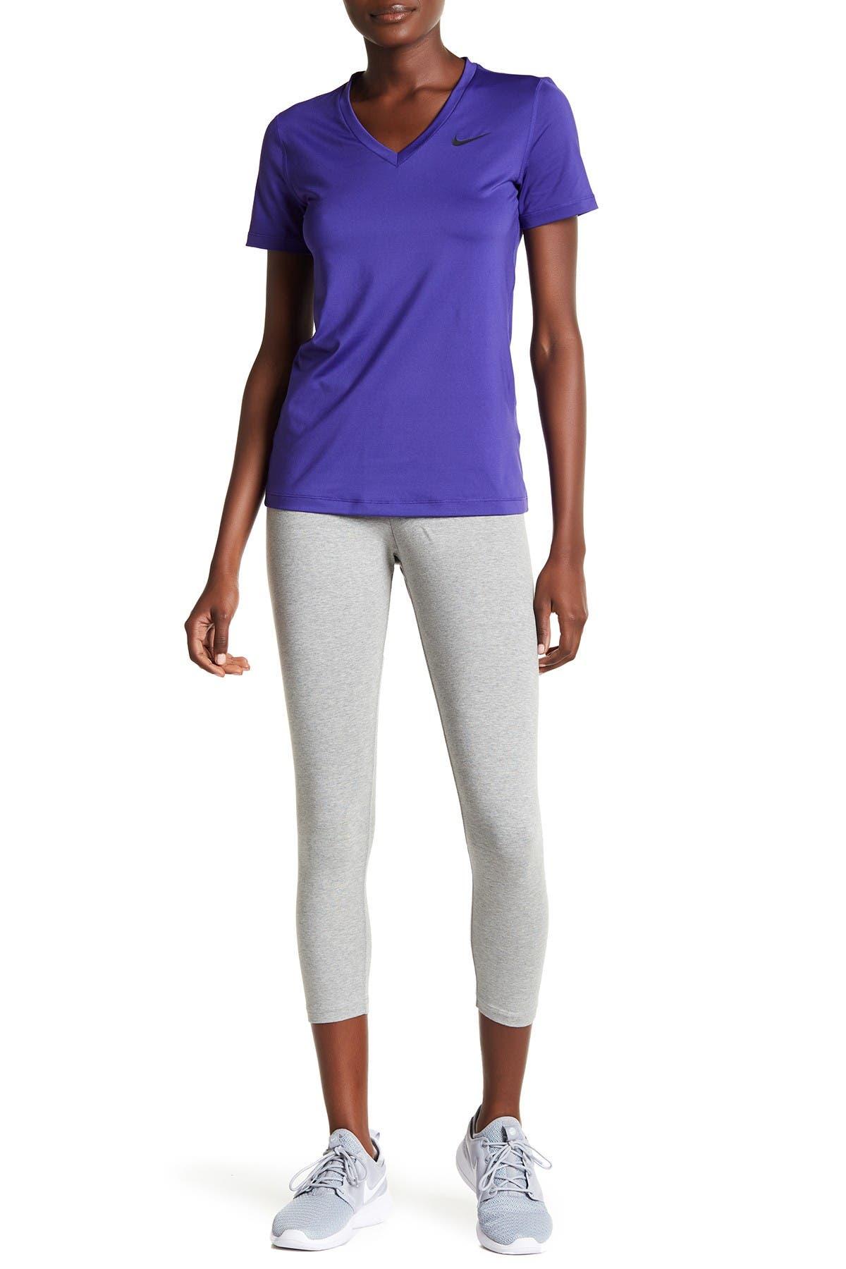 Image of Nike Club Futura Cropped Leggings