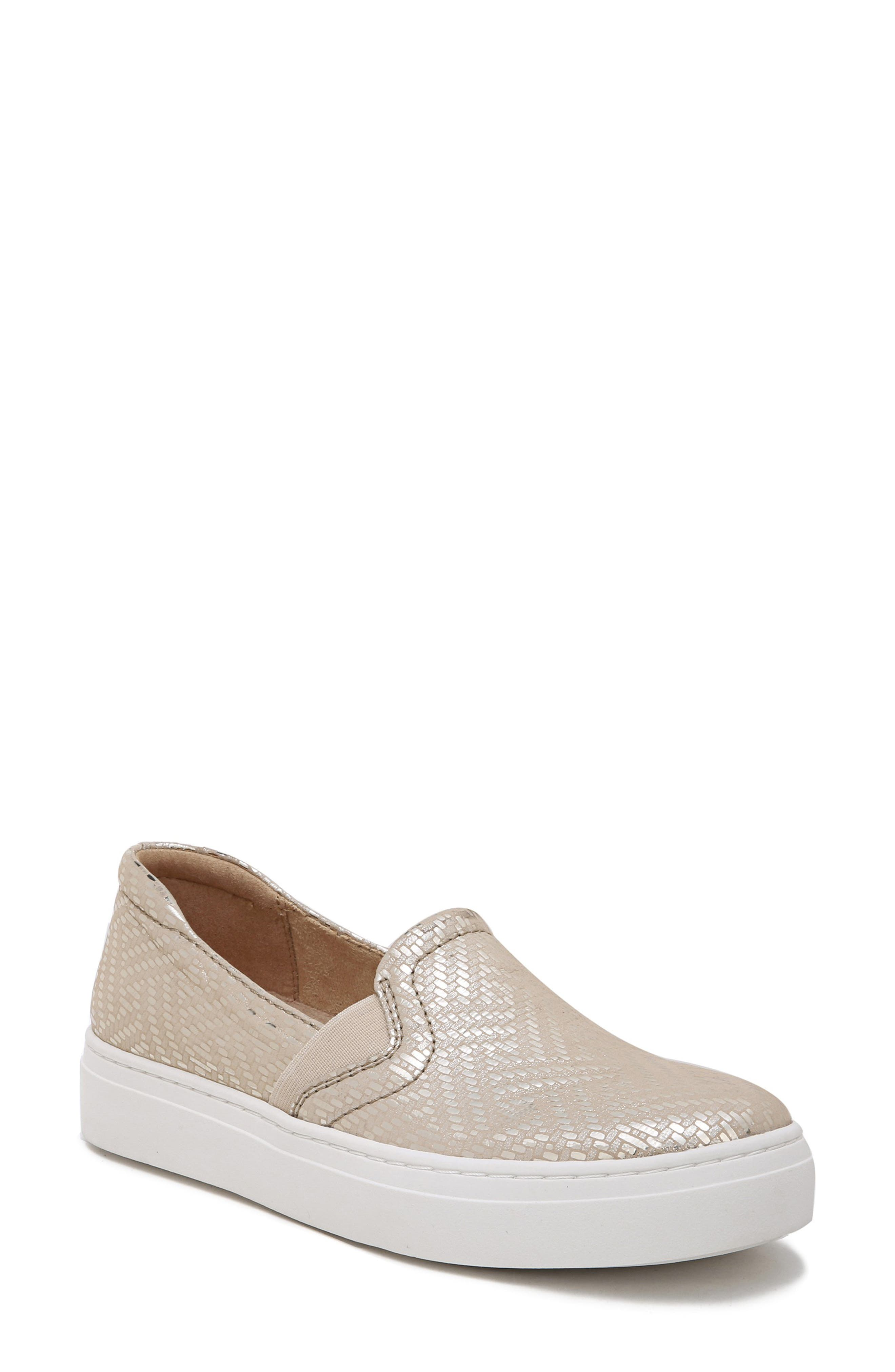 Naturalizer Carly 3 Slip-On Sneaker- Metallic