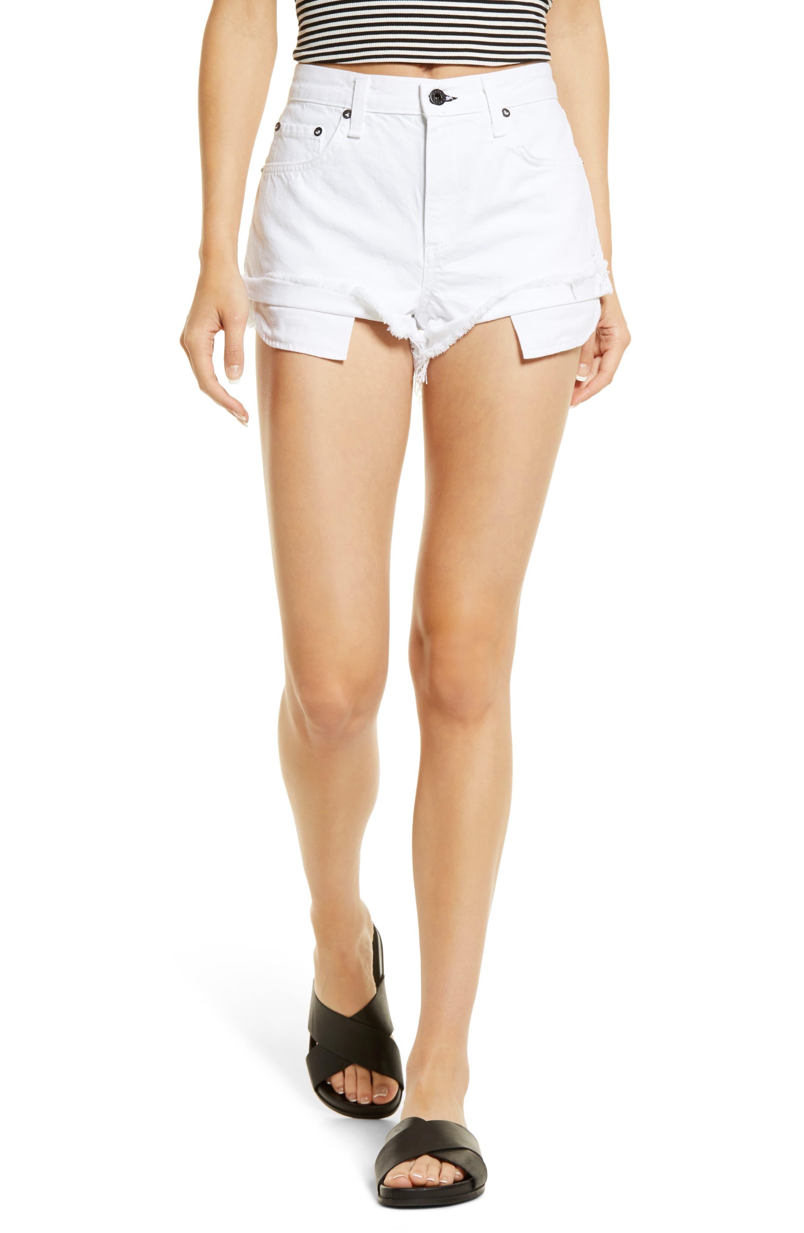 Beach Cutoff Denim Shorts