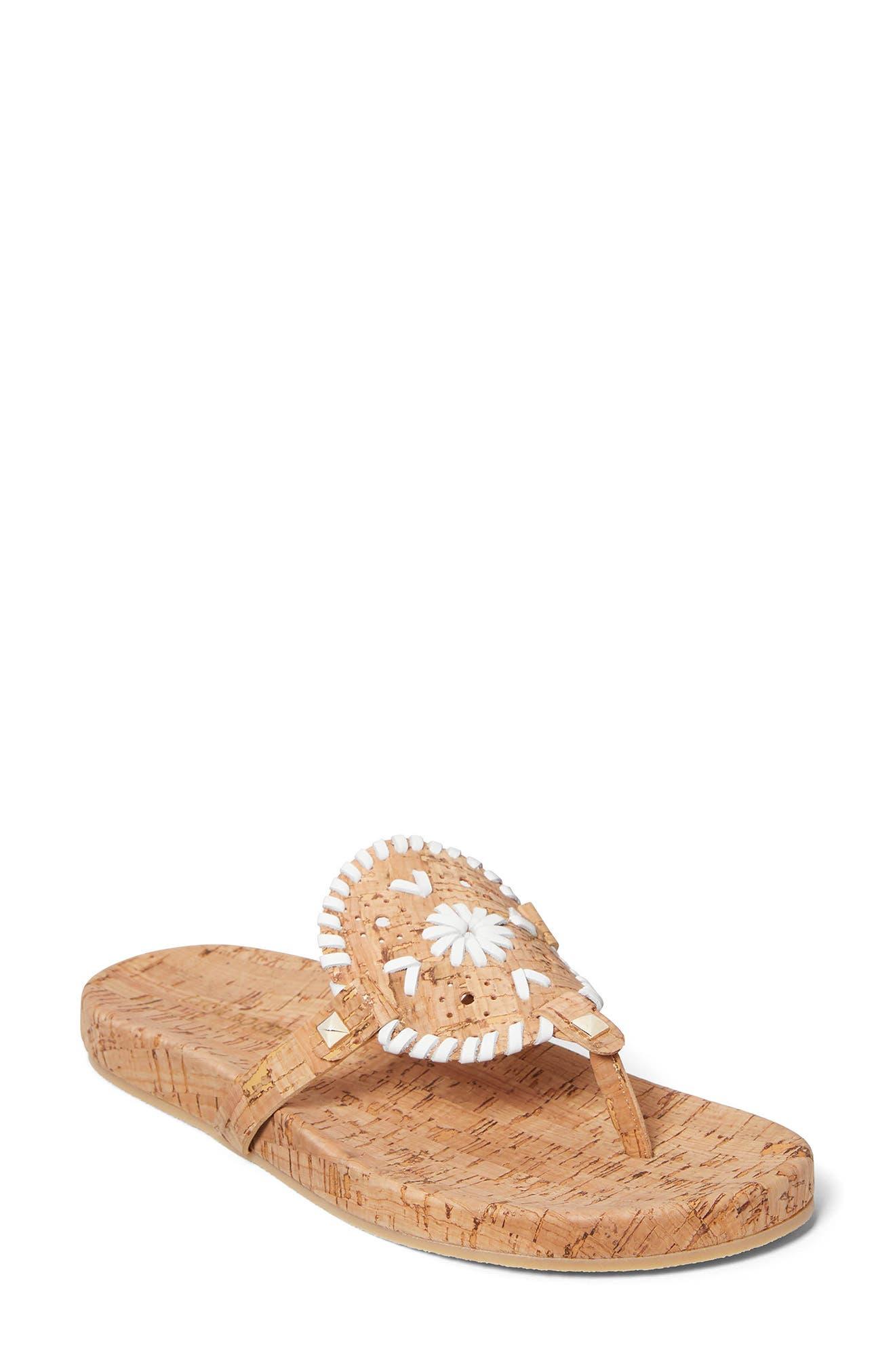 Georgica Cork Sandal