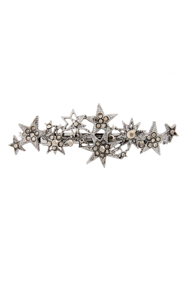CARA Crystal Star Barrette, Main, color, 040