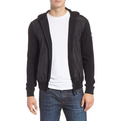 Canada Goose Windbridge Regular Fit Hooded Sweater Jacket, Black