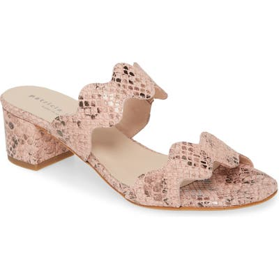 Patricia Green Palm Beach Slide Sandal- Pink