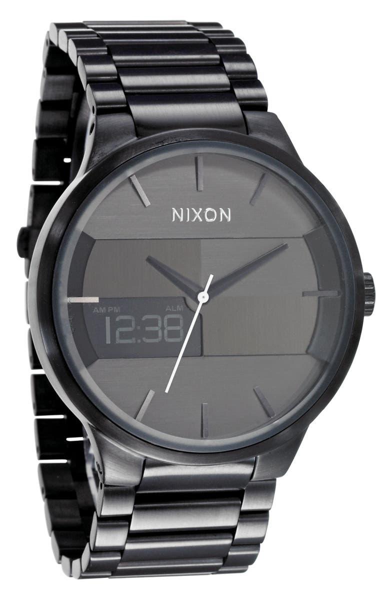 NIXON 'The Spencer' Bracelet Watch, Main, color, 001