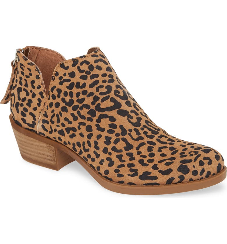 BP. BP Tae Bootie, Main, color, LEOPARD PRINTED SUEDE