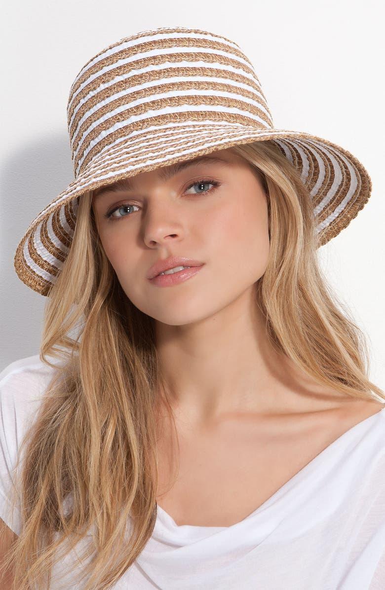 ERIC JAVITS 'Braid Dame' Hat, Main, color, 100