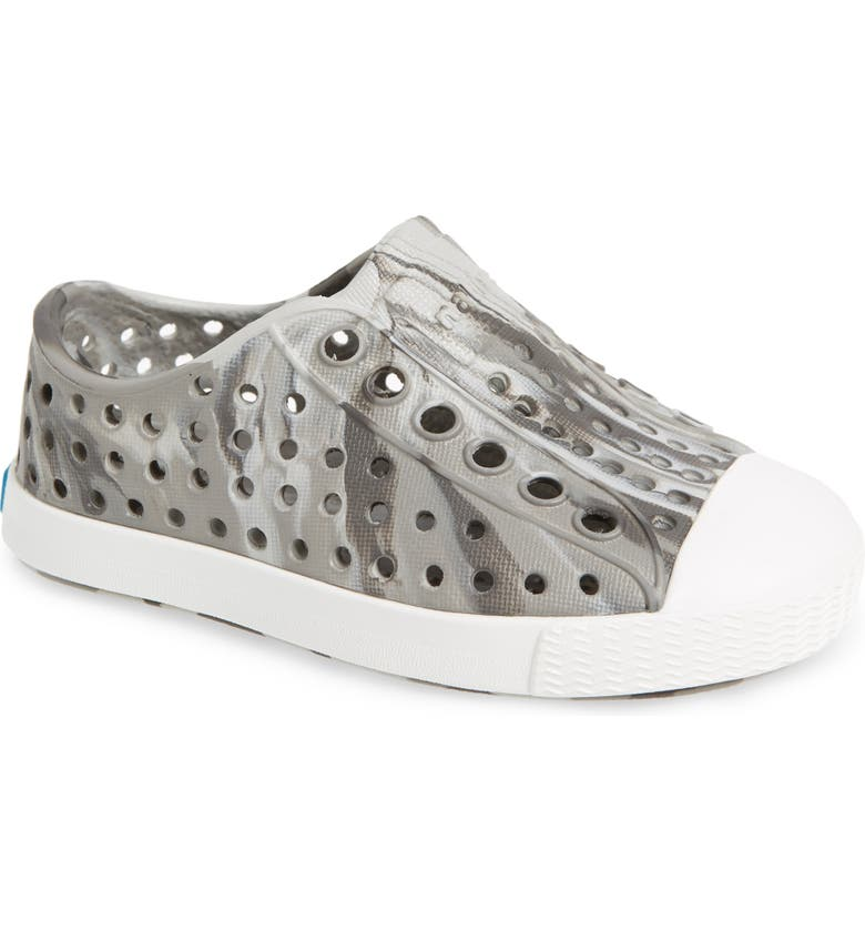 NATIVE SHOES Jefferson - Marbled Perforated Slip-On, Main, color, 020