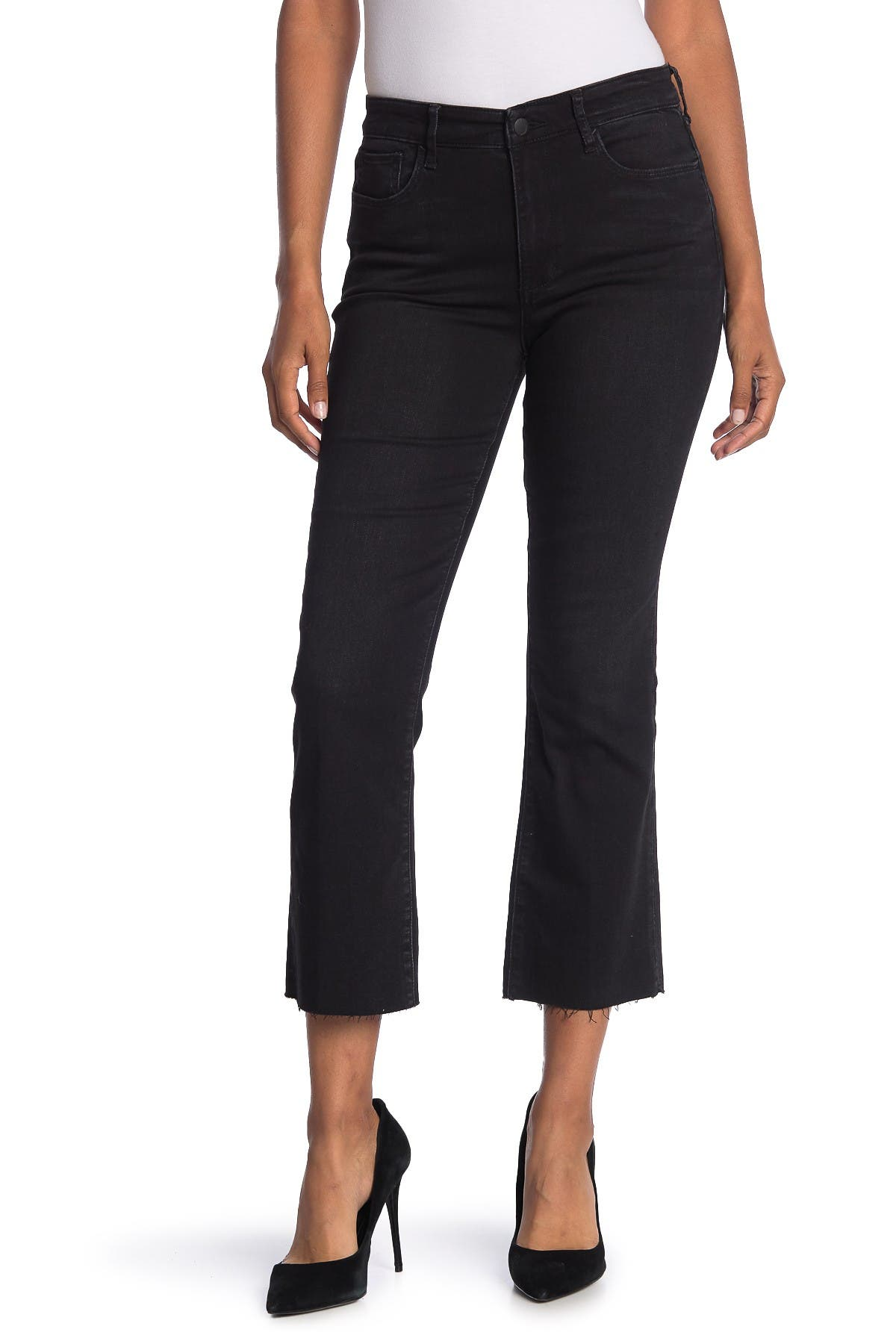 Image of Joe's Jeans High Rise Straight Crop Jeans