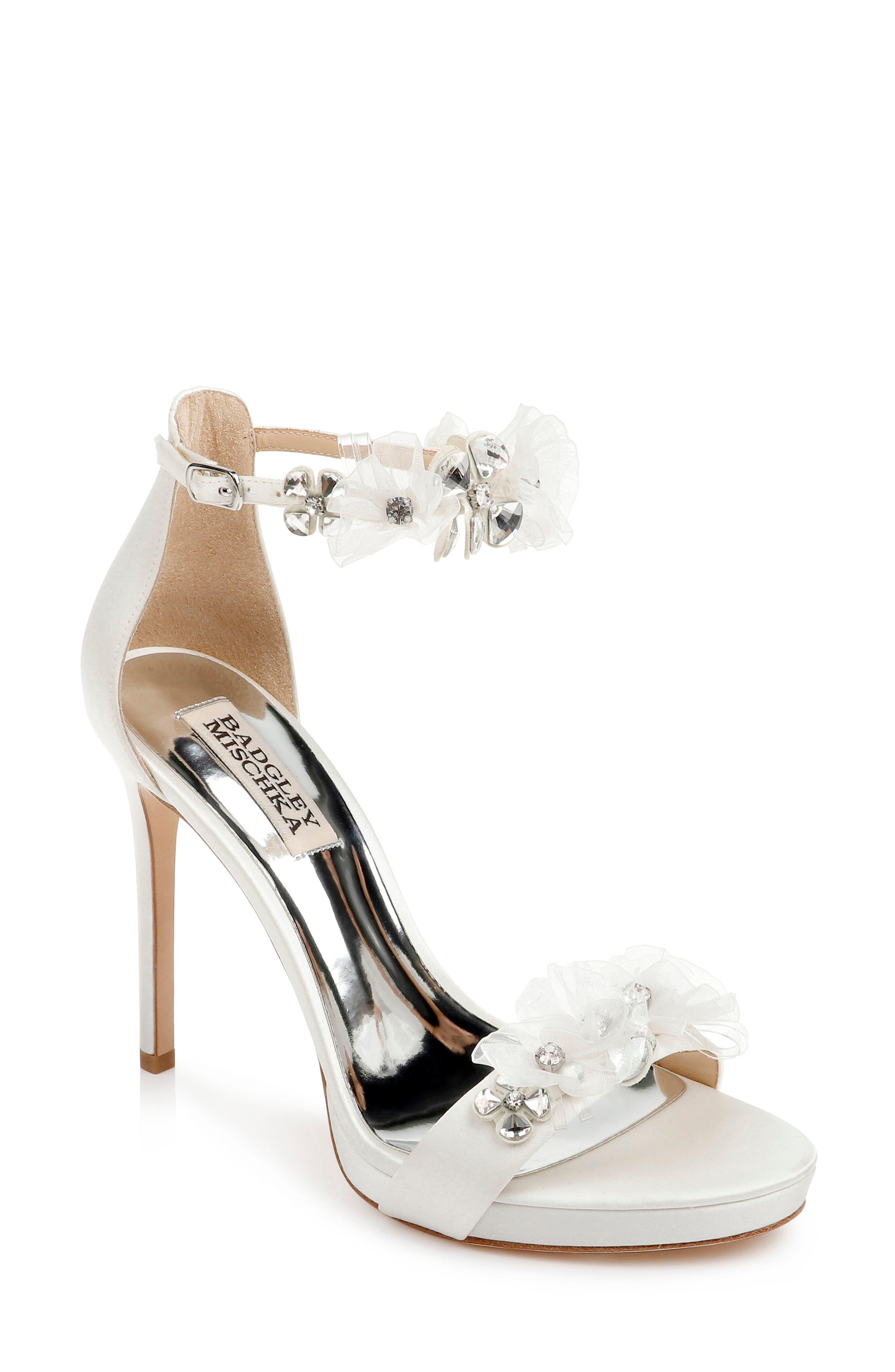 Badgley Mischka Womens Cardi Heeled Sandal