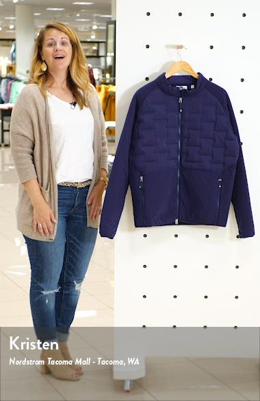 Blaze Stretch Panel Quilted Jacket, sales video thumbnail