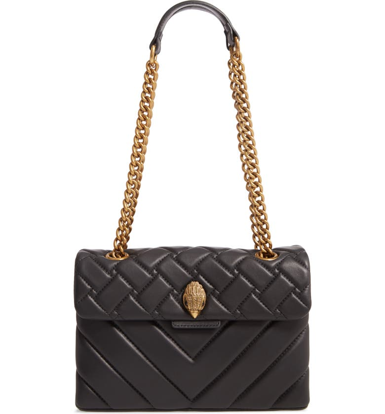 best website outlet boutique reasonably priced Kurt Geiger London Kensington Quilted Leather Shoulder Bag | Nordstrom