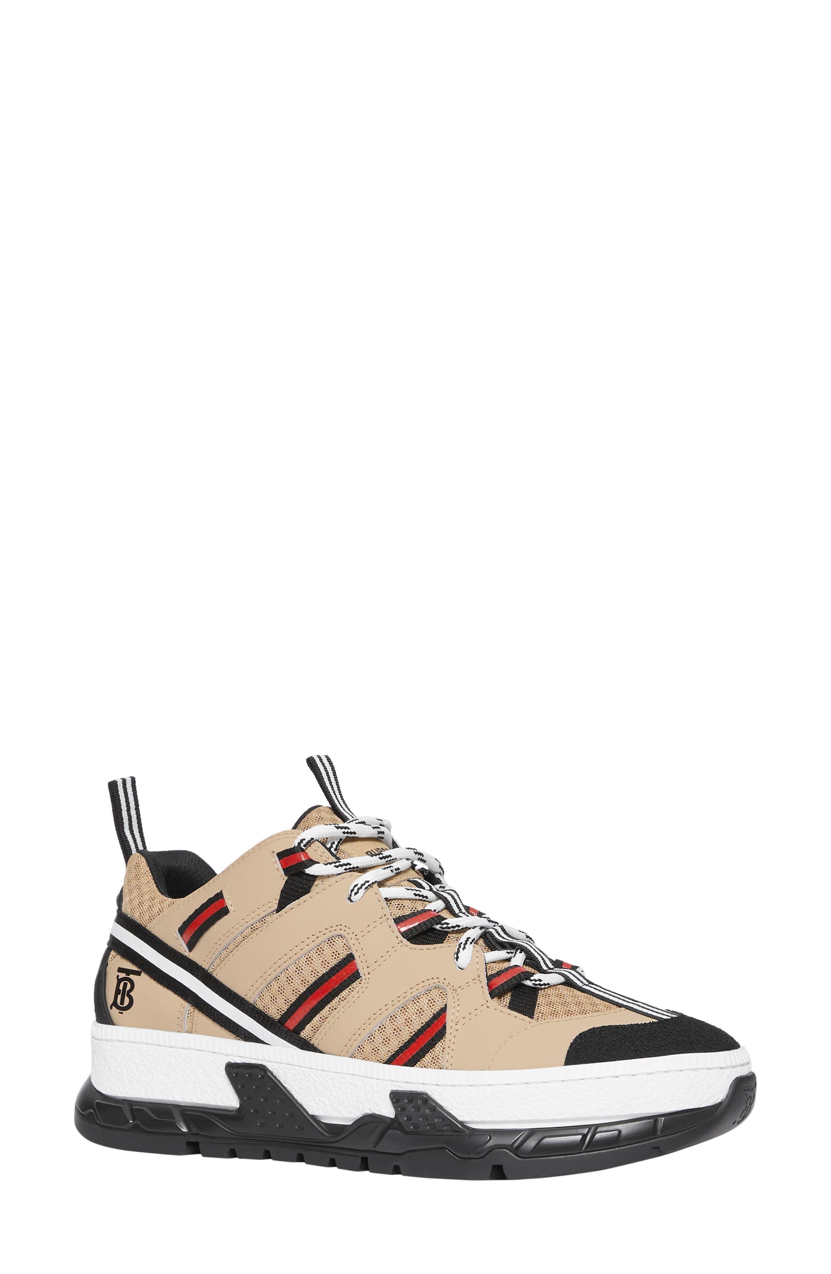 Burberry Rs5 Logo Platform Sneaker, Beige