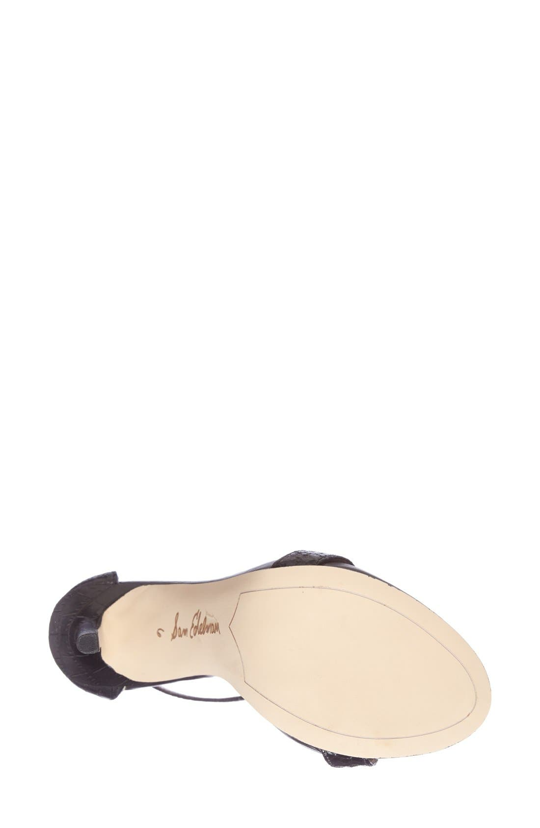 ,                             'Eleanor' Ankle Strap Sandal,                             Alternate thumbnail 39, color,                             007