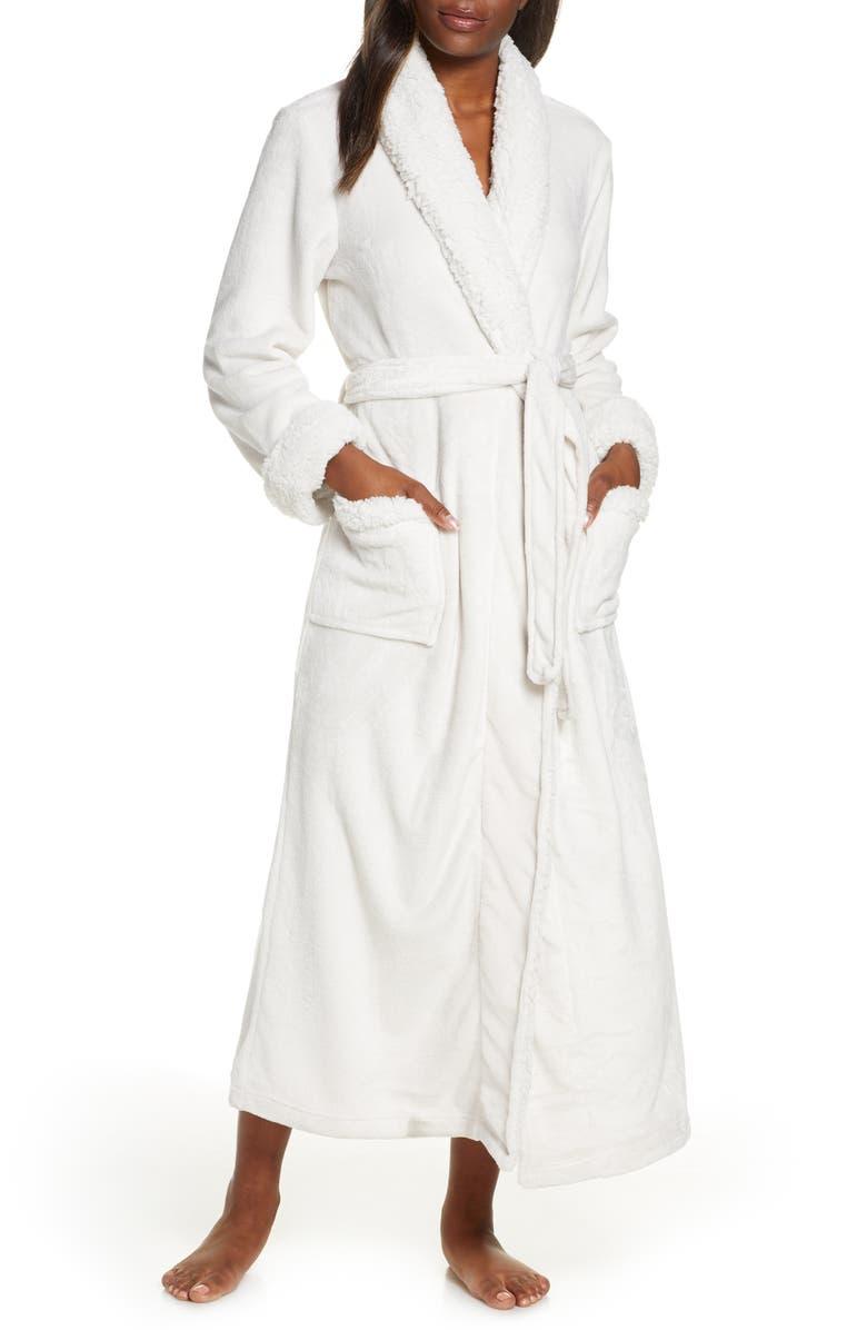 NATORI Plush Robe, Main, color, 250