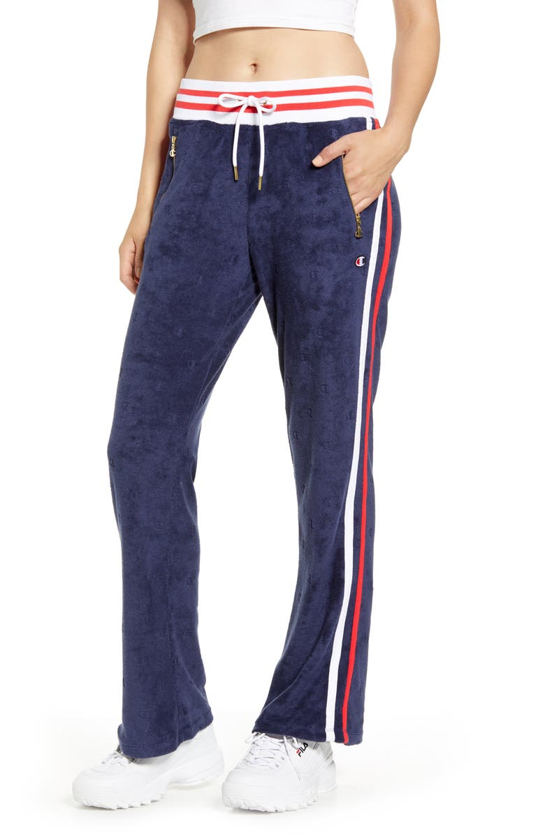 CHAMPION Terry Warm-Up Pants, Main, color, 400