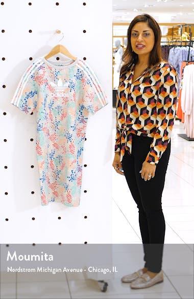 Floral Print T-Shirt Dress, sales video thumbnail
