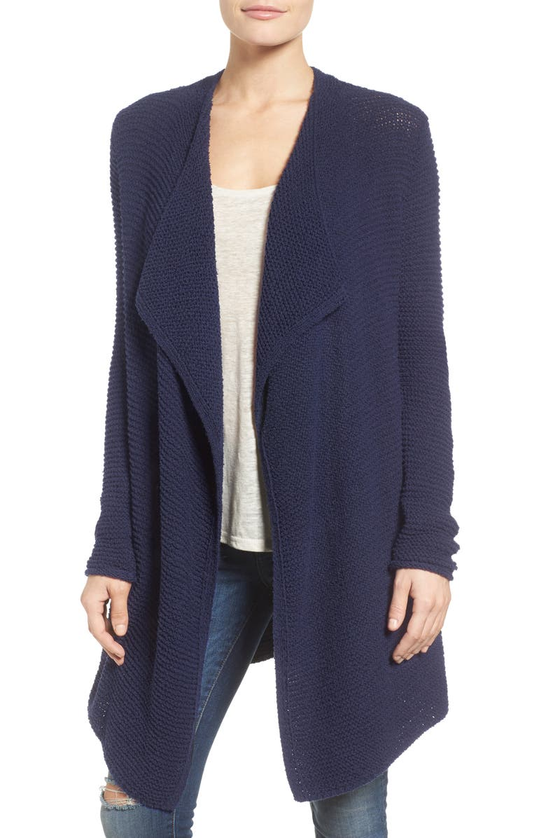 CASLON<SUP>®</SUP> Cotton Blend Cardigan, Main, color, 410
