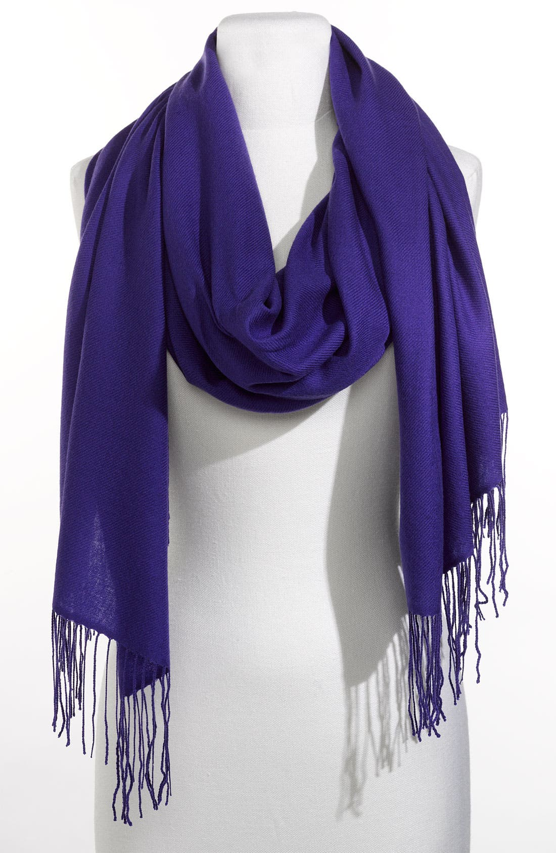 ,                             Tissue Weight Wool & Cashmere Wrap,                             Main thumbnail 128, color,                             505