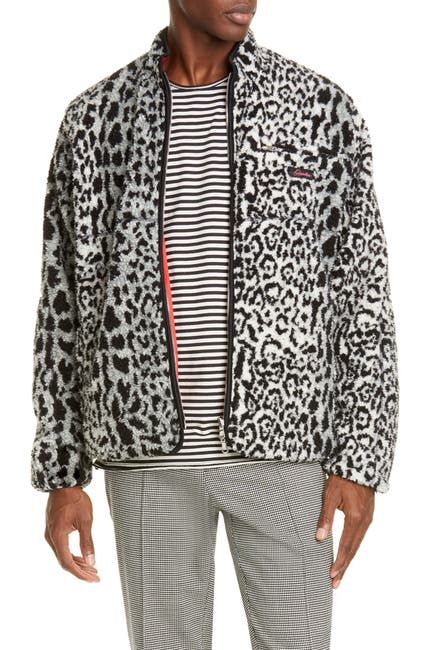 Image of OVADIA AND SONS Marsh Reversible Sherpa Jacket