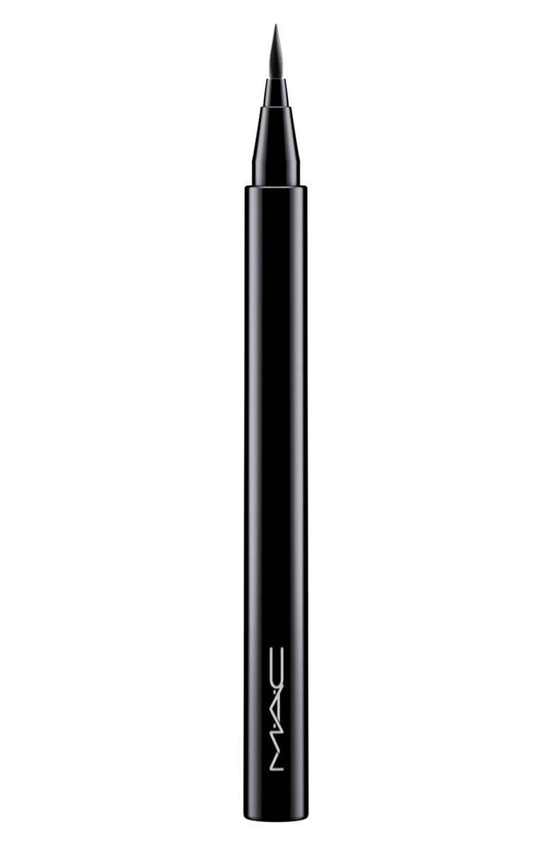 MAC COSMETICS MAC Brushstroke Liner, Main, color, BRUSHBLACK