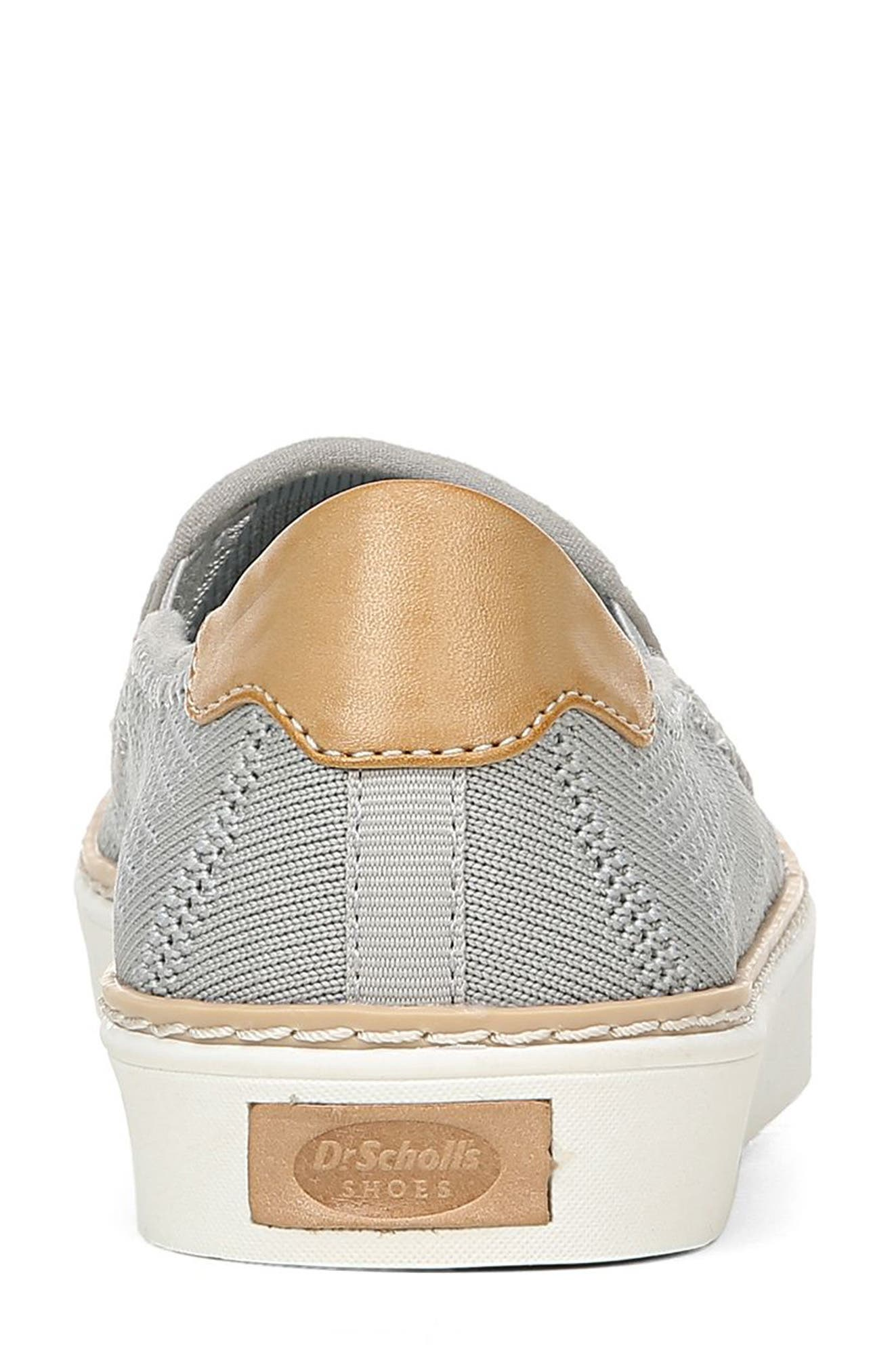 ,                             Madi Slip-On Sneaker,                             Alternate thumbnail 7, color,                             GREY KNIT FABRIC
