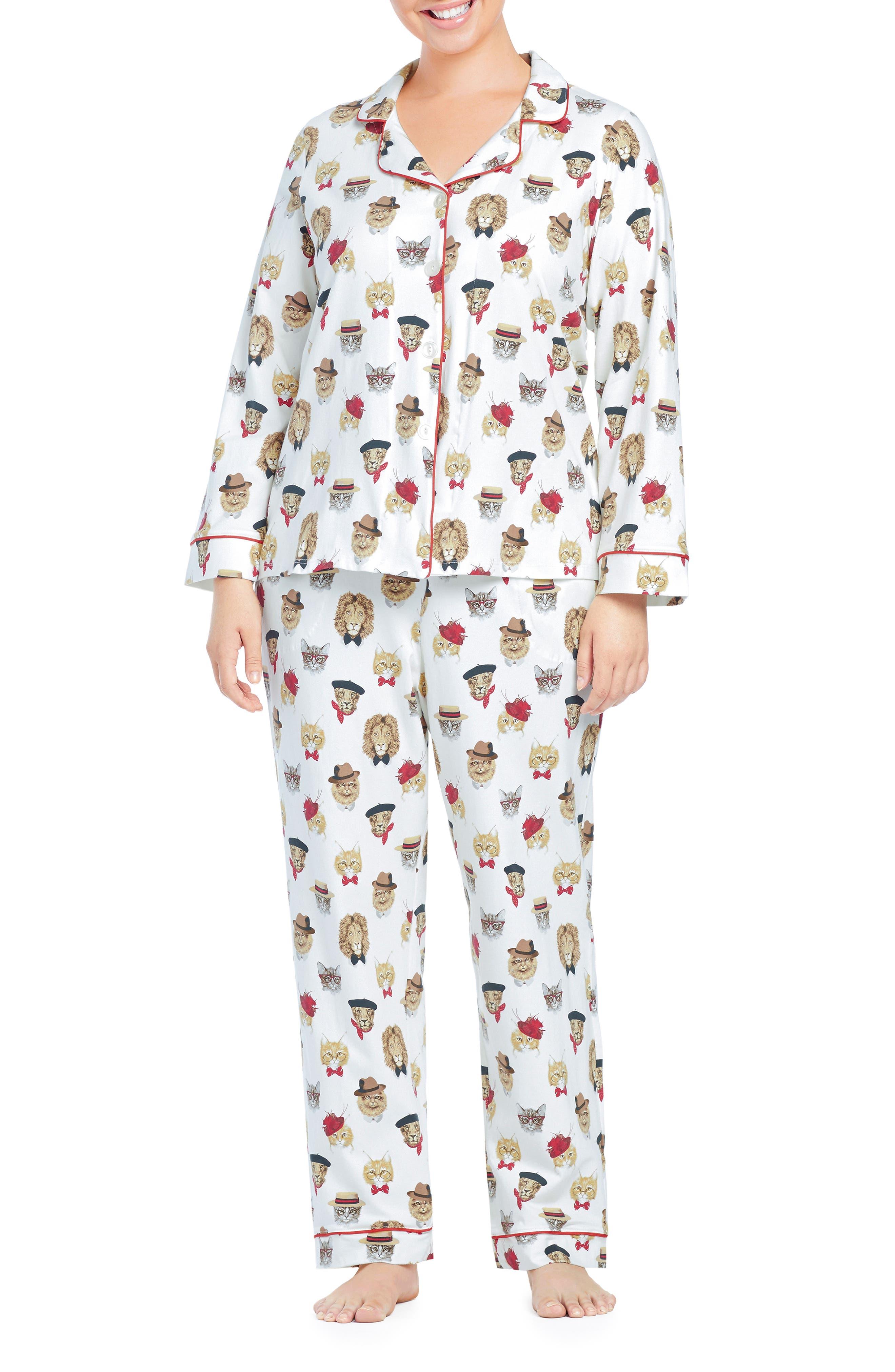 Plus Size Bedhead Classic Print Pajamas, Red