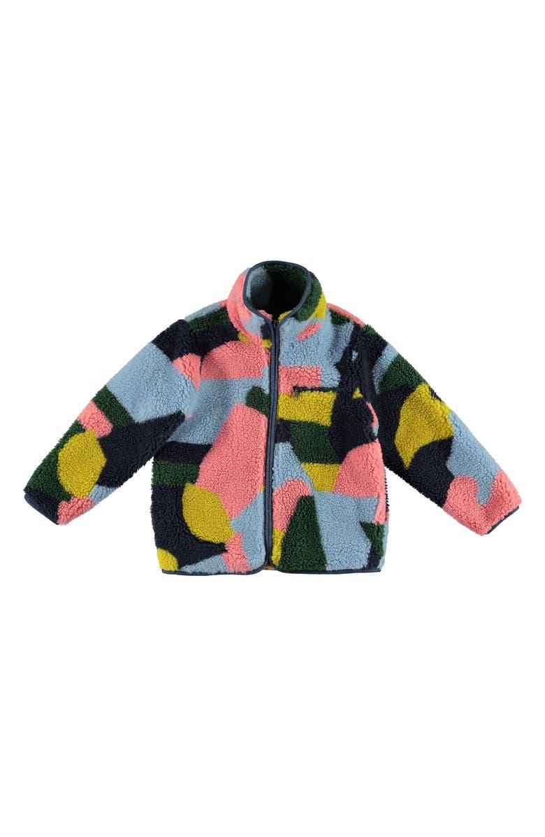 STELLA MCCARTNEY KIDS Teddy Jacket, Main, color, PINK MULTI