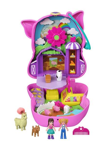 Image of Mattel Polly Pocket(TM) On The Farm(TM) Piggy Compact