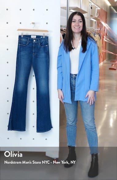 Le Pixie High Waist Split Flare Jeans, sales video thumbnail