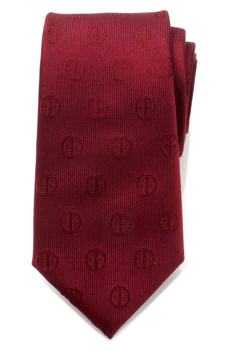 CUFFLINKS, INC. Deadpool Silk Tie, Main, color, RED