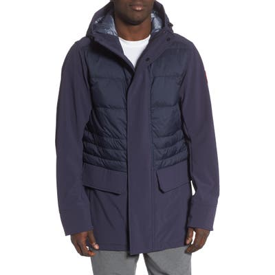 Canada Goose Breton 675-Fill Power Down Coat, Blue