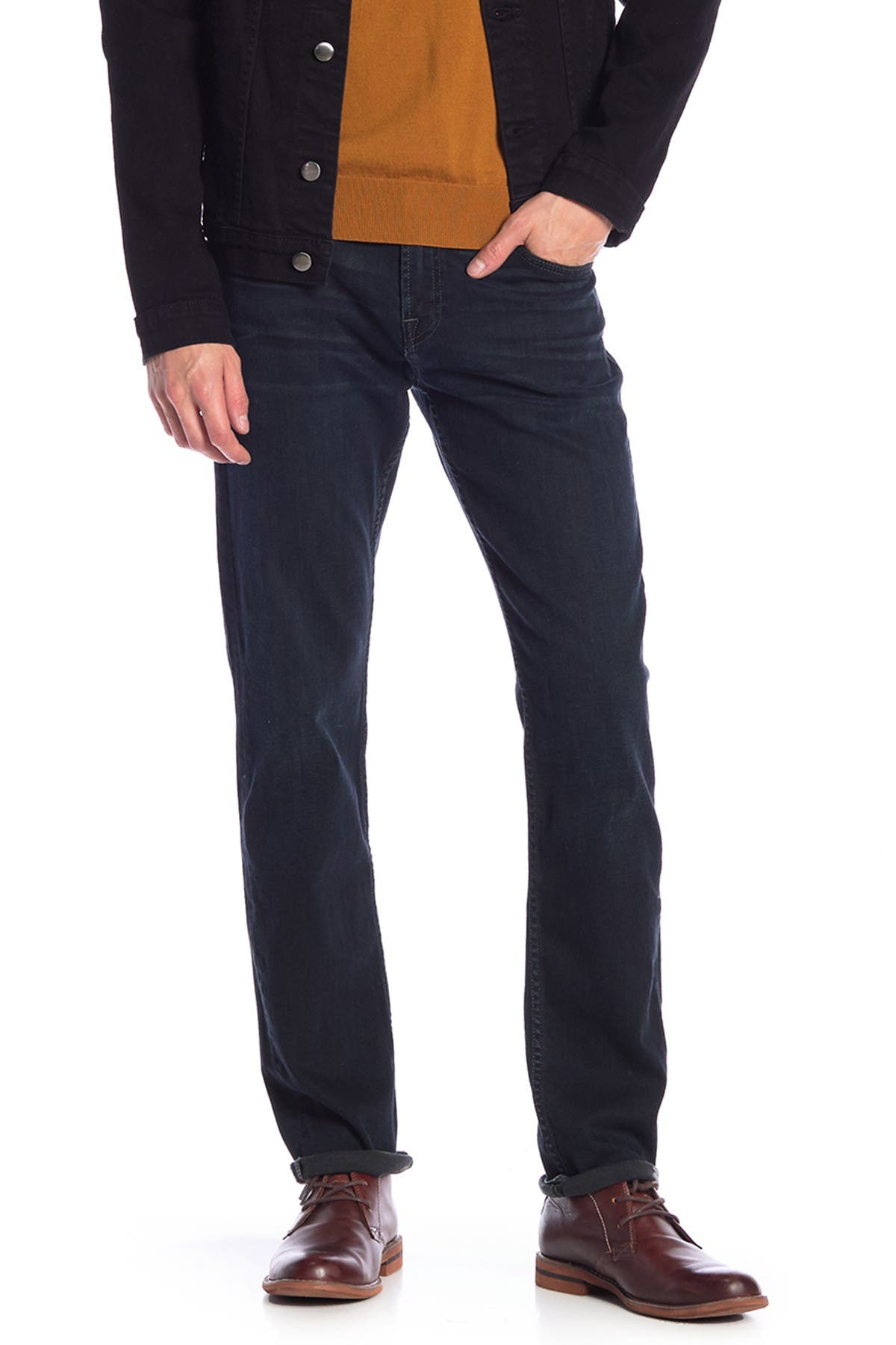 Image of 7 For All Mankind Slimmy Slim Straight Jeans