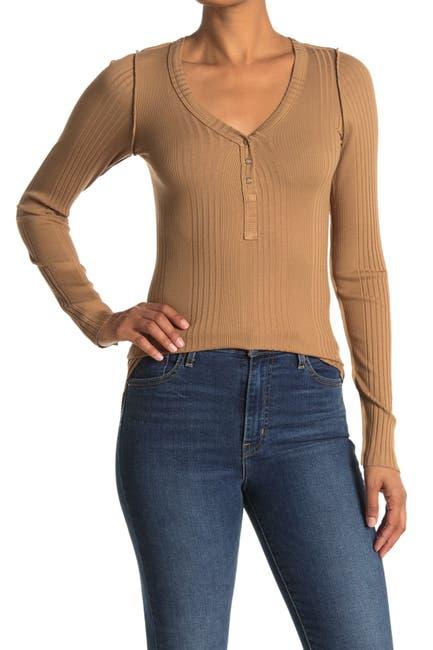 Image of NSF CLOTHING Indi Henley