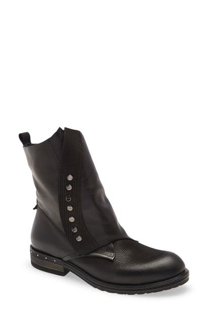 Sheridan Mia Suited Bootie In Black Leather