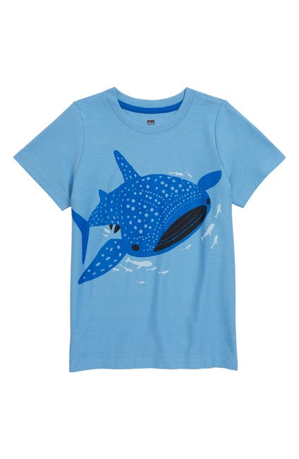 Image of Tea Collection Tattle Whale Shark Tee