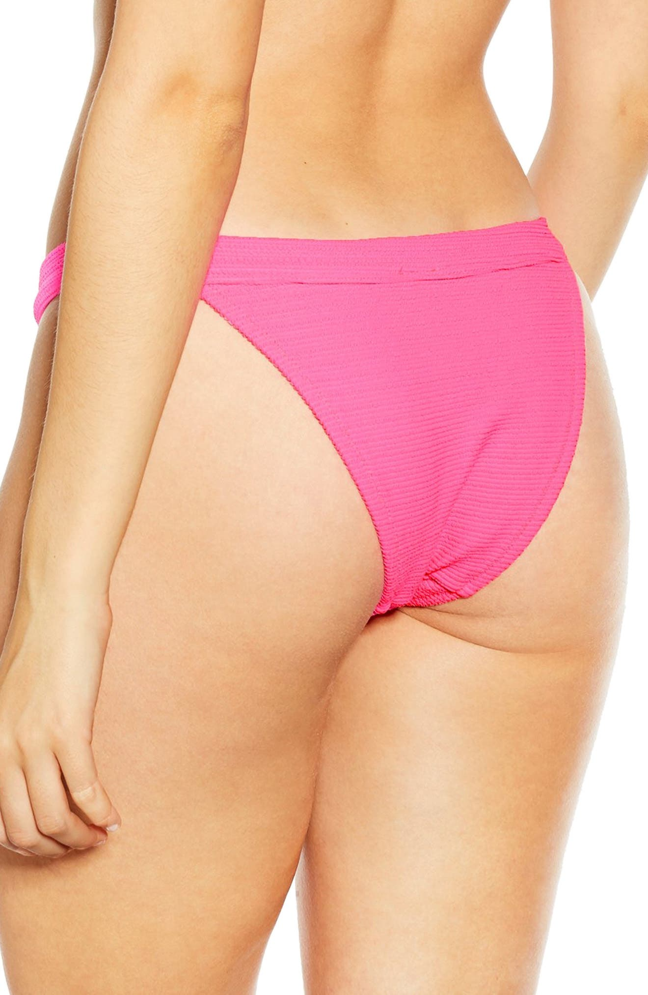 ,                             Tanga Bikini Bottoms,                             Alternate thumbnail 2, color,                             PINK