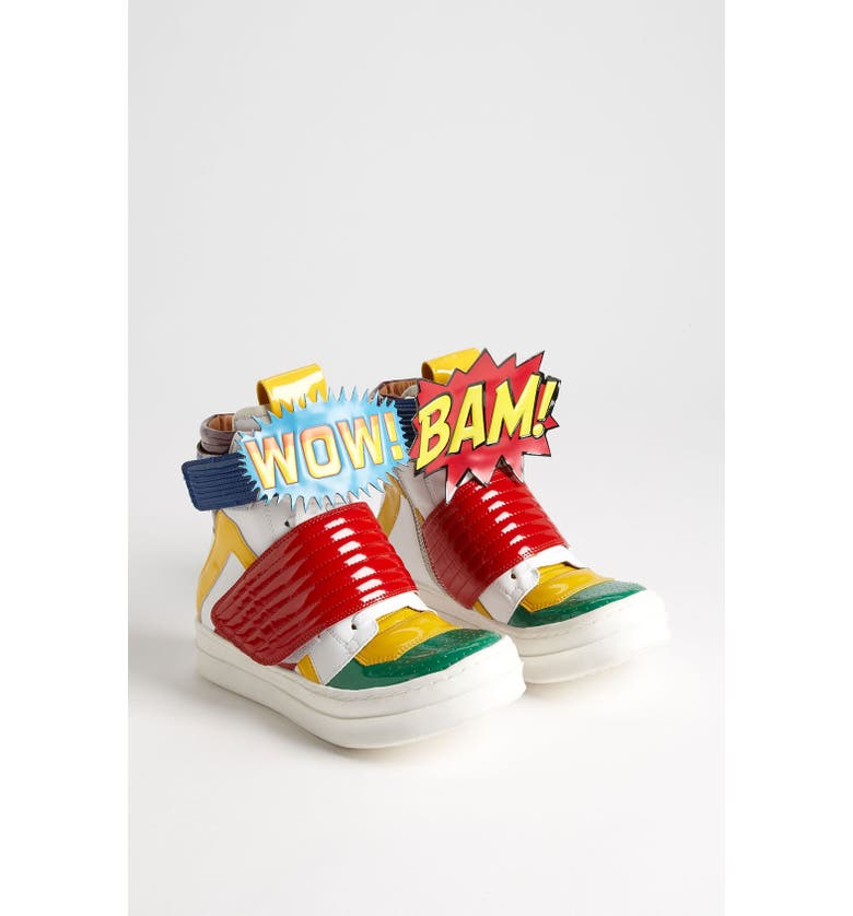 JEFFREY CAMPBELL 'BAM-WOW' Sneaker, Main, color, 300