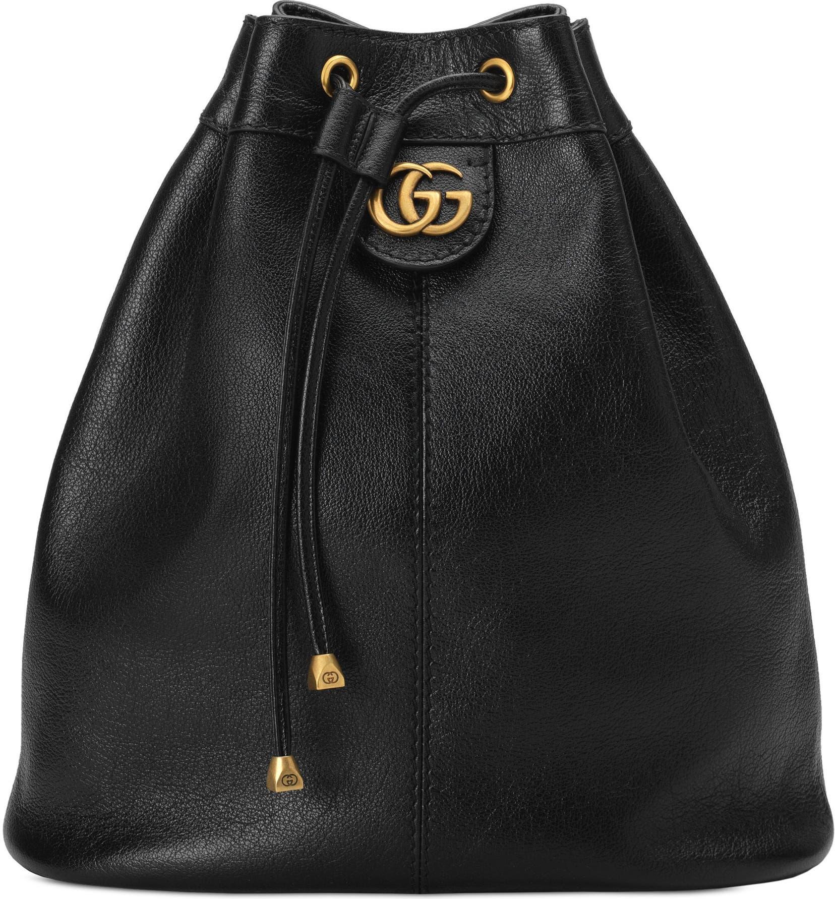 afbd8b5d8c0d Gucci Medium RE(BELLE) Leather Convertible Bucket Bag | Nordstrom