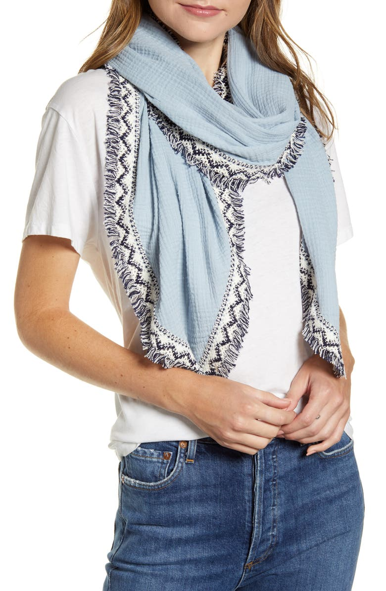 TREASURE & BOND Kite Scarf, Main, color, 400