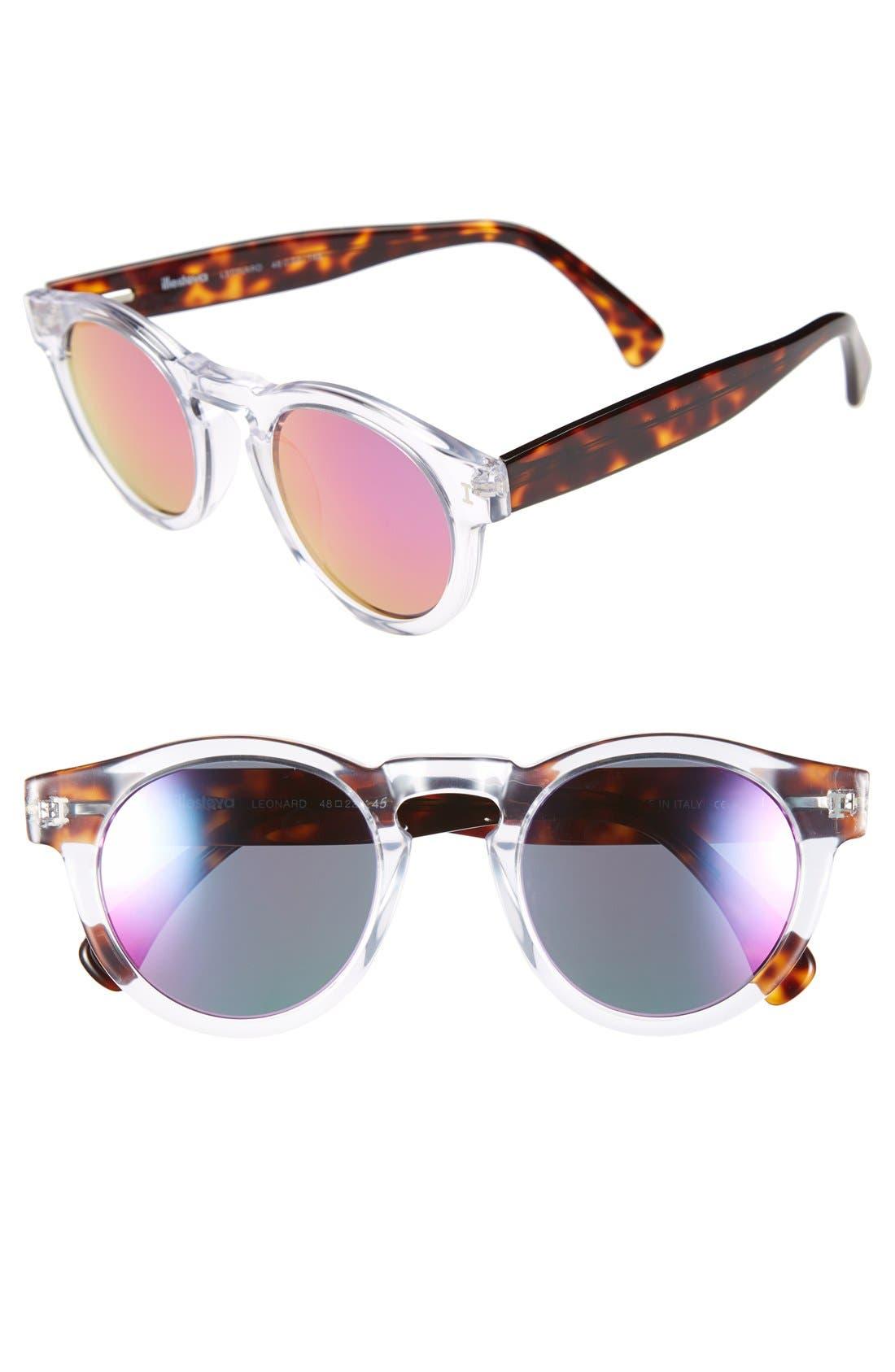,                             'Leonard' 47mm Sunglasses,                             Main thumbnail 69, color,                             201