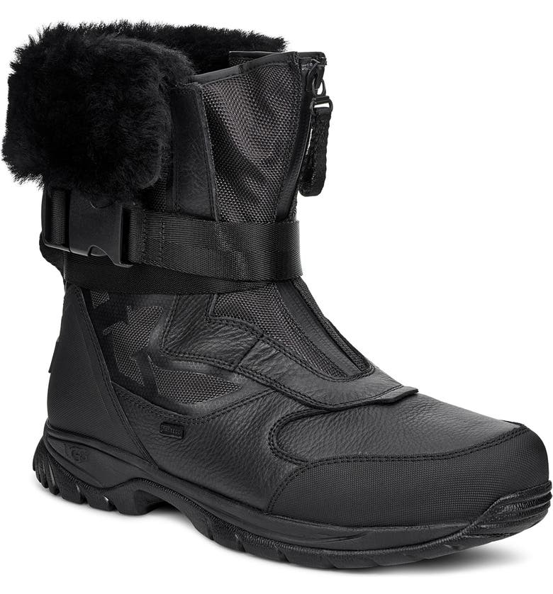 UGG<SUP>®</SUP> Tahoe Waterproof Snow Boot, Main, color, 001