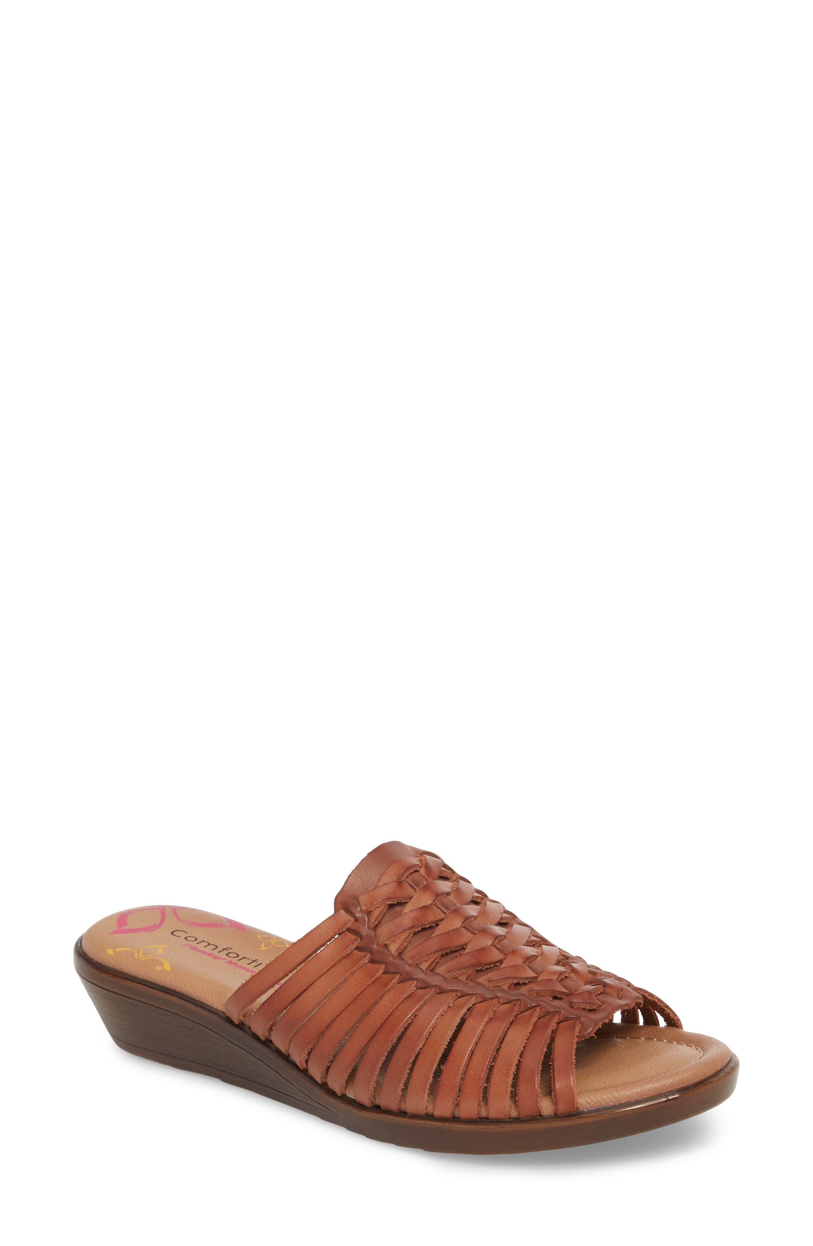 Felida Huarache Slide Sandal