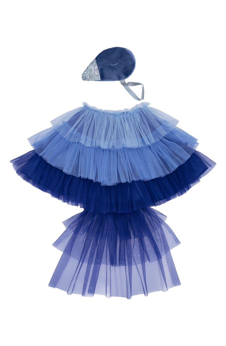 MERI MERI Bluebird Cape Dress-Up Set, Main, color, 400