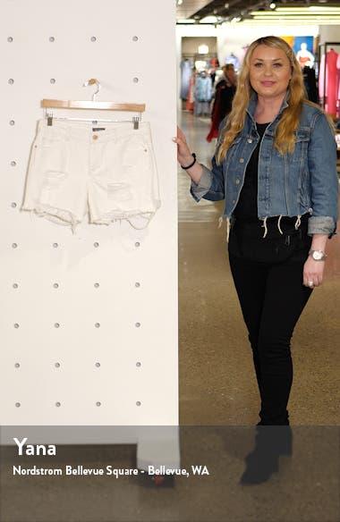 Karlie Ripped Boyfriend Shorts, sales video thumbnail