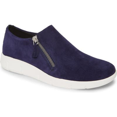 Johnston & Murphy Tracy Platform Sneaker- Blue