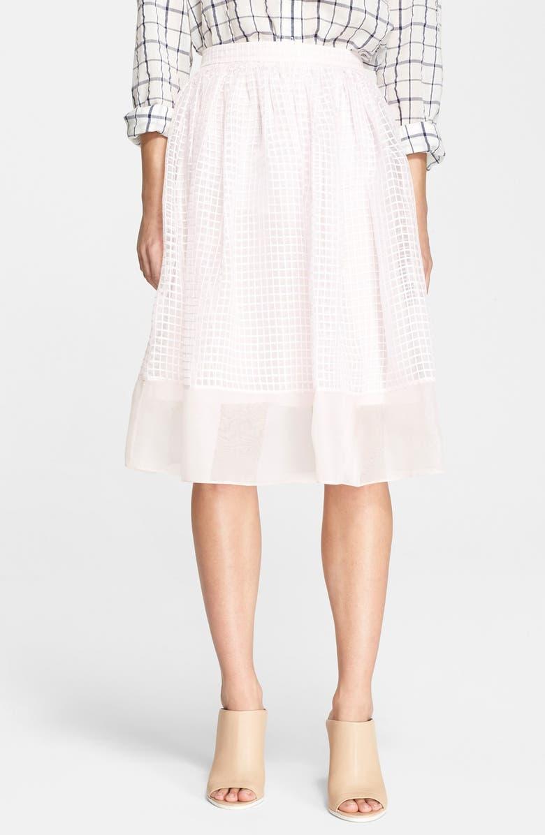 ELIZABETH AND JAMES 'Avenue' Chiffon A-Line Skirt, Main, color, 694
